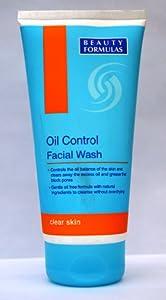 Beauty Formulas Oil Control Facial Wash, 150ml