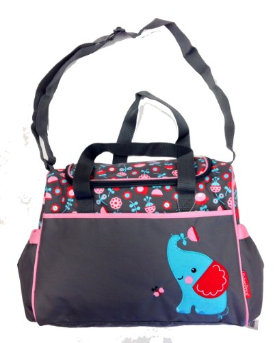 Fisher Price Diaper Bag Elephant Applique - 1