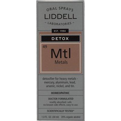 Liddell Homeopathic Anti-Tox Metals Spray - 1 Fl Oz