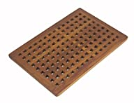 The ORIGINAL Teak GRATE Bath Shower Mat