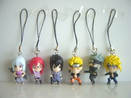 Naruto shippuuden transfer strap 7 6 NARUTO Minato Namikaze Hawk Suigetsu Karin all 6 species 1 Naruto (SAGE card corner taking) 2 Kakashi (