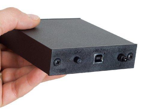Rega Fono mini A2D Préamplificateur phono avec USB pour systèmes MM Noir
