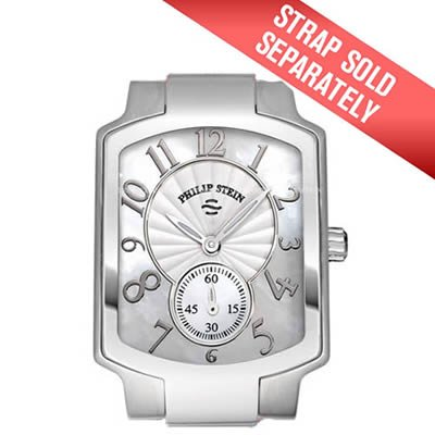 Philip Stein Signature Classic Sunburst Mother of Pearl Dial Ladies Watch Case 2