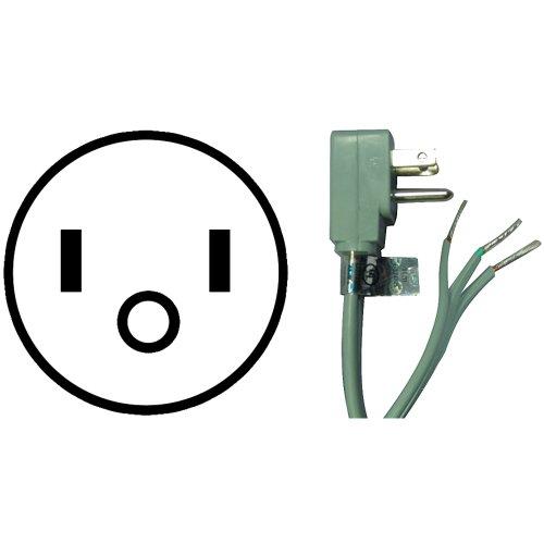 Petra 15-0343 Appliance Power Cord, 3-Feet front-346784