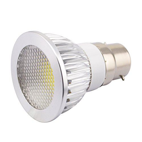Grexistar 3W B22 Cob Led Spot Light Bead Surface Lens Cool White Ac85~265V