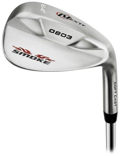 Nextt Golf Smoke Stainless Chrome Golf Wedge, Right Hand, Steel, Men'S, 64-Degree