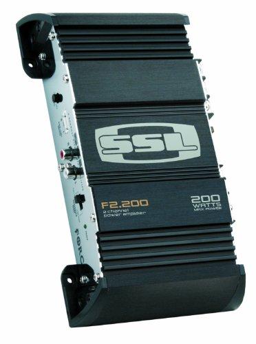 Ssl F2.200 Force 200-Watts Full Range Class A/B 2 Channel 2-8 Ohm Stable Amplifier