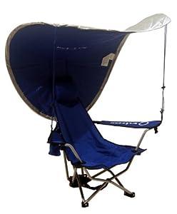 Kelsyus Portable Reclining Chair With Uv Sun Canopy