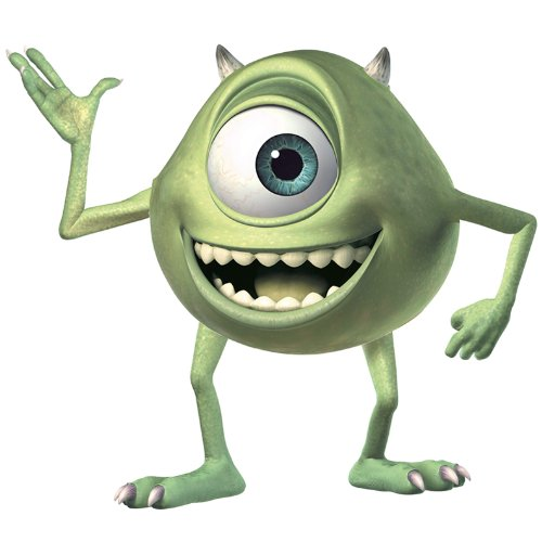 Roommates Rmk2011Gm Monsters Giant Mike Wazowski Peel  And  Stick Wall Decals (Monsters Inc Bedroom Decor compare prices)