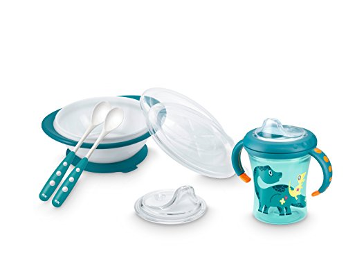 Nuk 10225109 Starter Set Pappa, Multicolore