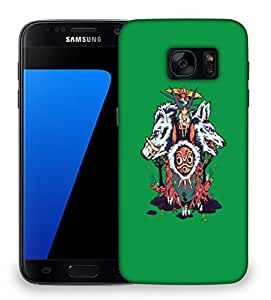 Snoogg Wild Animals Designer Protective Back Case Cover For SAMSAMSUNG S7