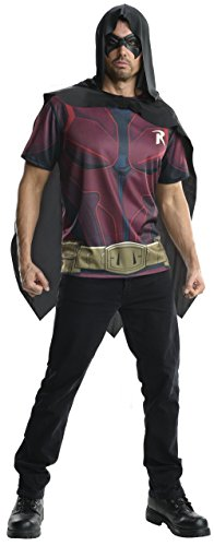 Rubie's Costume Men's Batman Arkham City Adult Robin Top
