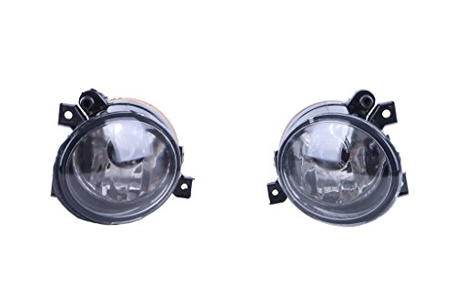 KittyParty 2 Pieces/set Front Bumper Convex Lens Fog Light Lamps for VW Jetta 5 Golf 5 Gti Mk5 (Vw Golf Mk5 Fog Lights compare prices)