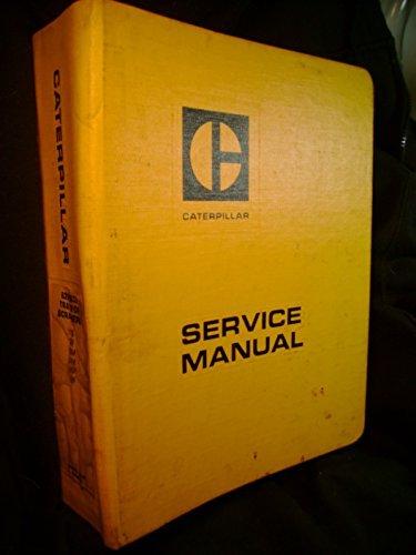 633 Scraper Caterpillar Service Manual