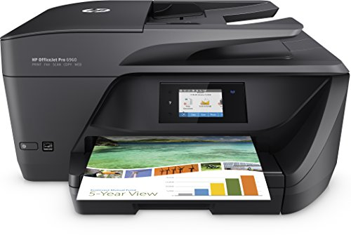 HP OfficeJet Pro 6960 Stampante multifunzione All-in-One, Stampa/Copia/Scansione/Fax, Wireless, Nero