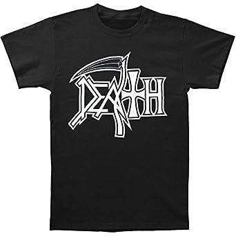 Death Men's New Logo T-shirt Small Black
