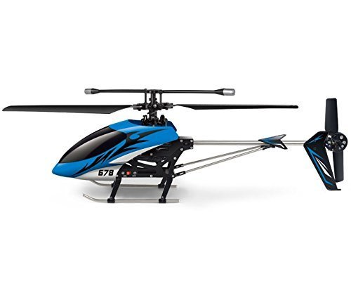 "Haktoys HAK678 17"" Single-Blade 3 Channel RC Helicopter, Gyroscope,"