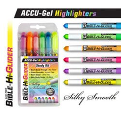 Accu-Gel Bible Highlighter Study Kit from Accu-Gel Bible Study Kit
