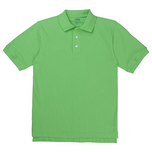 French Toast School Uniforms Short Sleeve Pique Polo Girls Lime 4