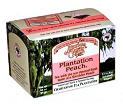 American Classic Plantation Peach Tea - Box of 12 pyramid tea bags