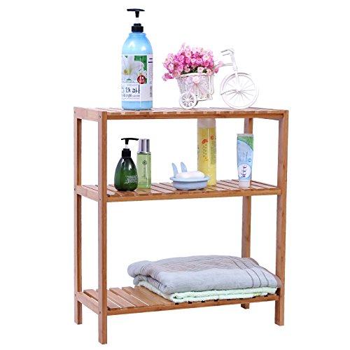 songmics carrello da cucina legno portavivande mobiletto scaffale mensola trolley ksk22n. Black Bedroom Furniture Sets. Home Design Ideas