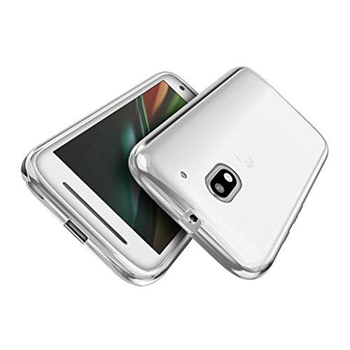 motorola e3 case. Chevron Crystal Clear Case Soft Flexible TPU Back Cover For Motorola Moto E3 Power, B