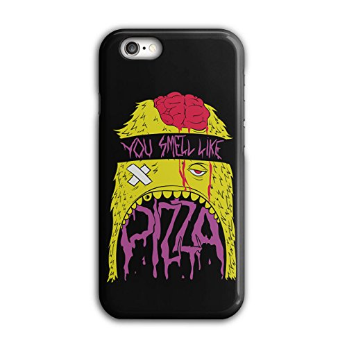 geruch-pizza-zombie-tot-hungrig-neu-schwarz-3d-iphone-6-6s-fall-wellcoda