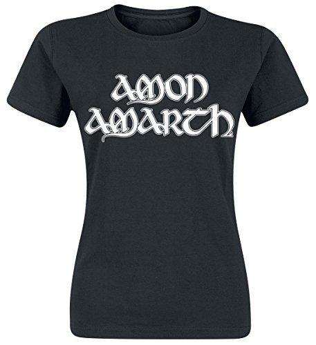Amon Amarth Logo Maglia donna nero S
