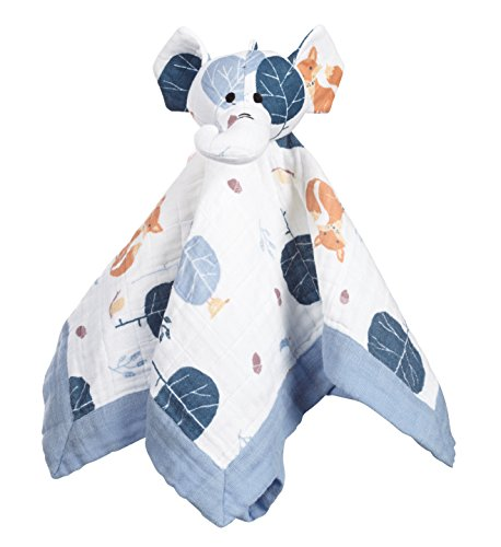 aden + anais Organic Lovey Nursery Blanket, Into the Woods