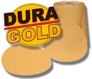 "320 Grit DURA-GOLD 6"" PSA Disc DA Sander Sandpaper Roll"