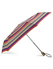 Per Una Zig Zag Striped Umbrella