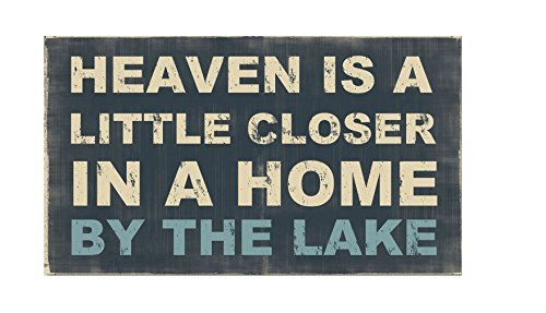 Young's Wood Heaven is Box Sign, 14-Inch