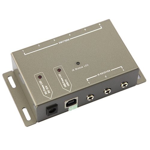 DBPOWER® Infrarot (IR) Fernbedienung Receiver IR Repeater System Kit ...