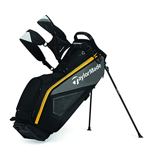 TaylorMade Purelite Stand Bag, Black/Gray/Yellow (Taylormade Purelite Stand Bag compare prices)