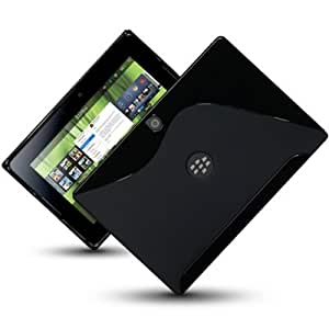 BLACKBERRY PLAYBOOK GEL CASE / COVER / SHELL / SKIN - BLACK PART OF THE QUBITS ACCESSORIES RANGE