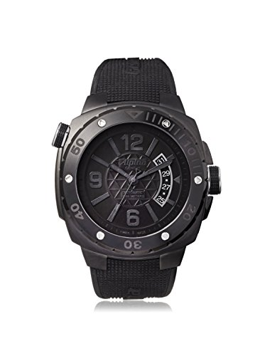 Alpina Men's Seastrong Extreme Diver Black Stainless Steel Watch