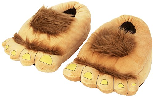Think Geek Furry Adventure Slippers - 1
