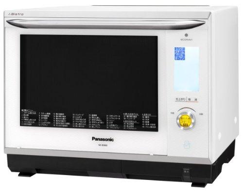 パナソニック スマート×ビストロ×エコナビ スチームオーブンレンジ 30L ホワイト NE-BS900-W