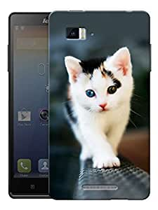 "Walking Cat Printed Designer Mobile Back Cover For ""Lenovo Vibe Z K910"" By Humor Gang (3D, Matte Finish, Premium Quality, Protective Snap On Slim Hard Phone Case, Multi Color)"