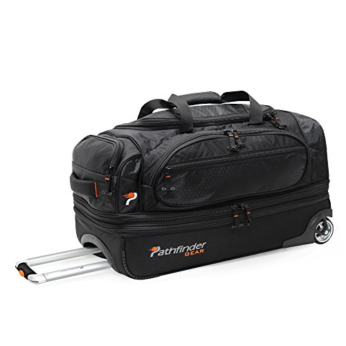 pathfinder-gear-26-inch-rolling-drop-bottom-duffel-black-one-size