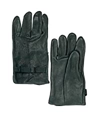 Rothco Leather D3-A Type Gloves, Black, 6 Size