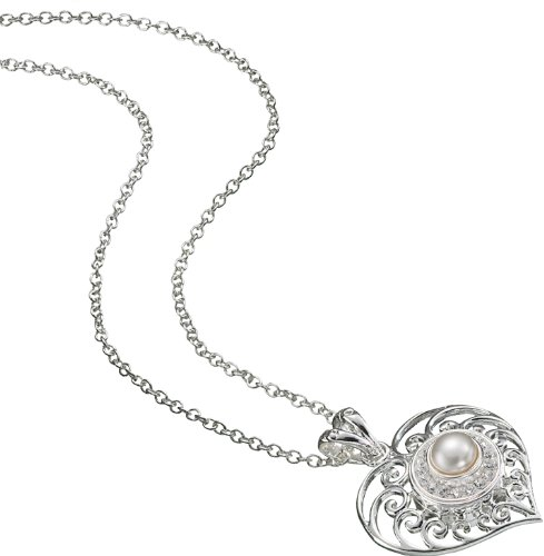 Kameleon Filigree Heart Pendant KP31 (JewelPops Sold Separately)