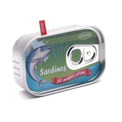 Paper Clip Sardine Tin