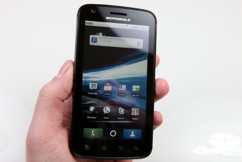 Motorola Atrix MB860 4G Unlocked Dual Core Phone with Android Gingerbread 2.3 OS and 5MP Camera