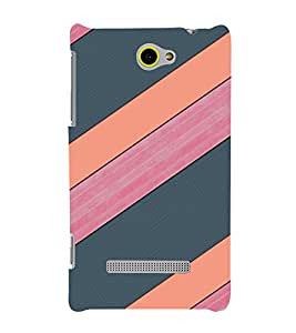 EPICCASE pink and grey Mobile Back Case Cover For HTC One M10 (Designer Case)