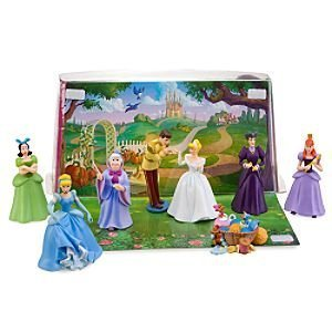 Disney Cinderella Figure Play Set -- 8-Pc.