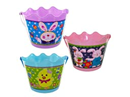 Easter bucket with handle, Case of 48