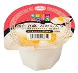 たらみ カロリコカロリカ デザート 80kcal 杏仁豆腐 みかん入り 230g×6個