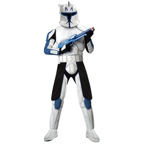 Deluxe Clone Trooper Captain Rex Costume - Standard - Chest Size 40-44