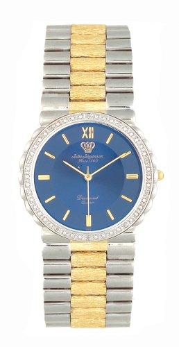 Jules Jurgensen Men's Diamond Two-Tone Watch #5200TU - Buy Jules Jurgensen Men's Diamond Two-Tone Watch #5200TU - Purchase Jules Jurgensen Men's Diamond Two-Tone Watch #5200TU (Jules Jurgensen, Jewelry, Categories, Watches, Men's Watches, By Movement, Swiss Quartz)